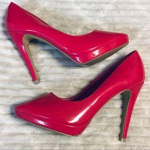 Urban Fuschia HOT pink Stiletto Heels Pumps sz 10